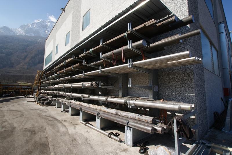 Scaffalature Industriali Brescia.Scaffalature Metalliche Industriali Brescia Tami